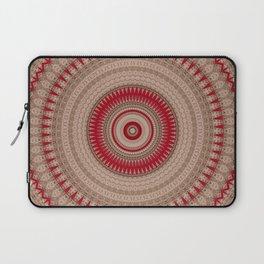 Textured Red Madala Laptop Sleeve
