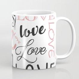 Love, Love, Love Coffee Mug