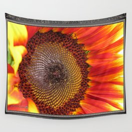 Sunflower from the Color Fashion Mix Wall Tapestry
