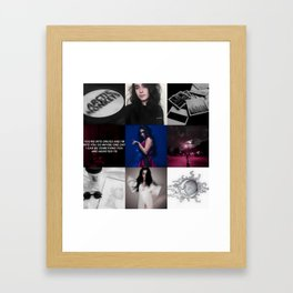 Lauren Aesthetic Framed Art Print