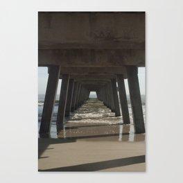 Tybee Island Beach, Savannah, GA Canvas Print