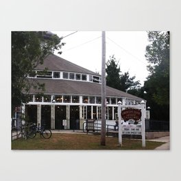 Crescent Park Carousel  Canvas Print