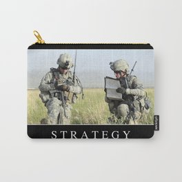 Strategy: Inspirational Quote and Motivational Poster Carry-All Pouch