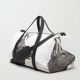 Dramatic Deer Duffle Bag