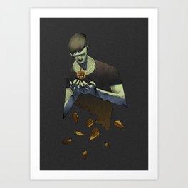 Falloween Art Print