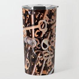 skeleton key Travel Mug