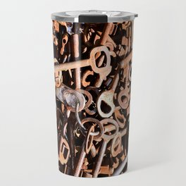 skeleton key Travel Mug