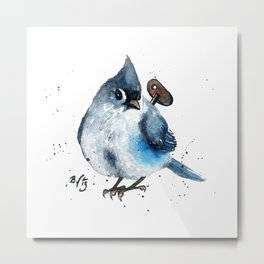 Wind Up Mini CI Metal Print