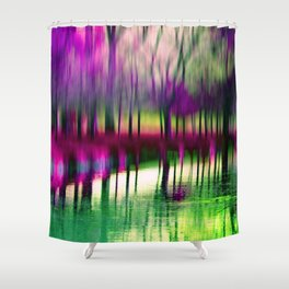 Deep moments Shower Curtain
