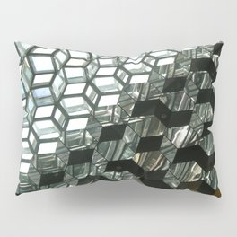 Harpa,  concert hall and conference centre Pillow Sham