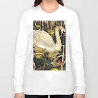 swan queen Long Sleeve T-shirts featuring Swan by Lara Paulussen