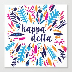 Kappa Delta Canvas Print