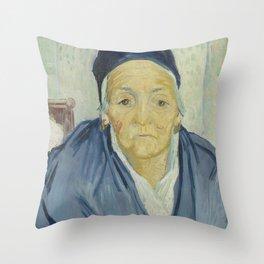 An Old Woman of Arles Throw Pillow