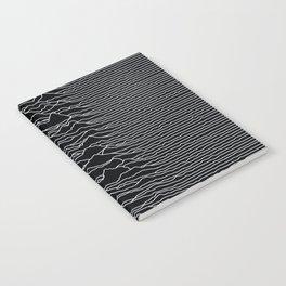 Unknown Radio Waves - Unknown Pleasures Notebook
