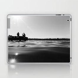 Black Lake Sunbursts Laptop & iPad Skin