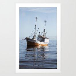 Lofoten Sjark Art Print