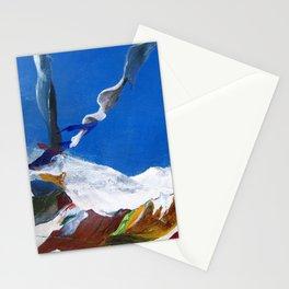 Tibetan laundry Stationery Cards