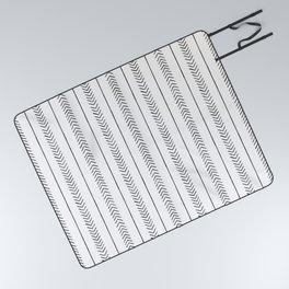 Arrows & Lines Picnic Blanket