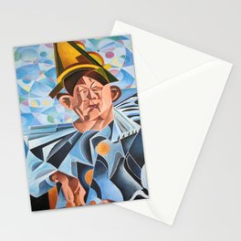 Not Clowning But Frowning Stationery Cards
