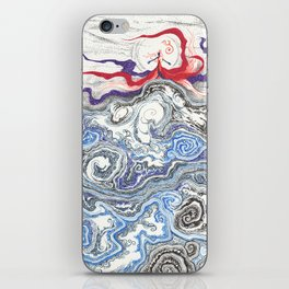 Storm Brewing iPhone Skin
