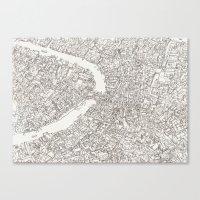 venice Canvas Prints featuring Venice by Abigail Daker
