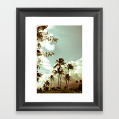 kailua - hawaii 2 Framed Art Print