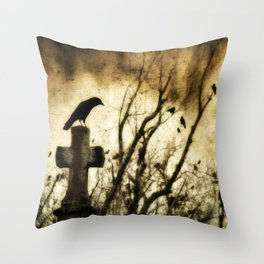 Strangest Of Days Throw Pillow
