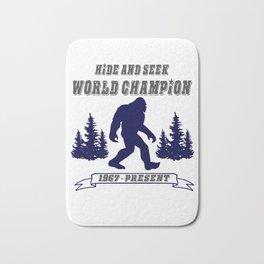 Hide and Seek World Champion Bigfoot Bath Mat
