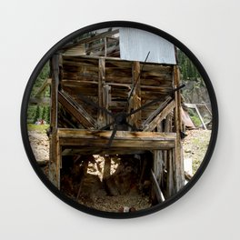 Exploring the Longfellow Mine of the Gold Rush - A Series, No. 9 of 9 Wall Clock