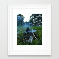 camp Framed Art Prints featuring camp by jillian bogarde