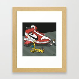 """air""3 Framed Art Print"