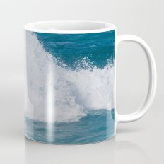 Hookipa Splash Waves Beach Break Shore Break Pacific Ocean Maui Hawaii Mug