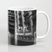 uncharted Mugs featuring Uncharted II by ZML Zealous Modern Living