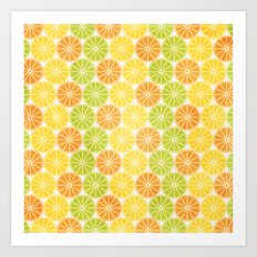 Zesty Slice Art Print