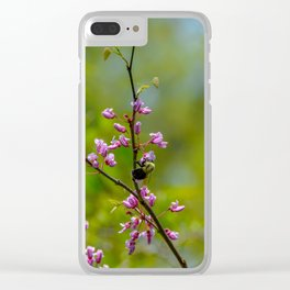 Bumble and Inch by Teresa Thompson Clear iPhone Case