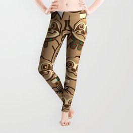 Sloth Coffee Leggings