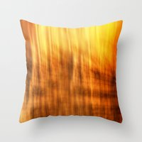 tapestry Throw Pillows featuring Tapestry by Mark Alder
