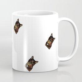 Polka Cat Sideways Animated Coffee Mug