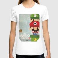 mario bros T-shirts featuring mario bros 2 fan art by danvinci