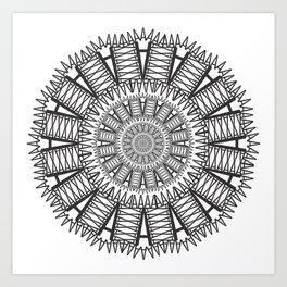 Futura Condensed 'A' Art Print