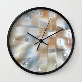 Windows Space Wall Clock