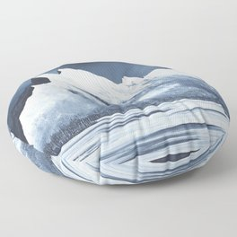 Mount Rundle Floor Pillow