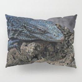 Blue Tree Monitor Lizard Pillow Sham