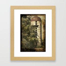 Rusted Silo Framed Art Print