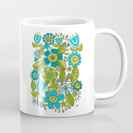 Botanical Doodles Coffee Mug