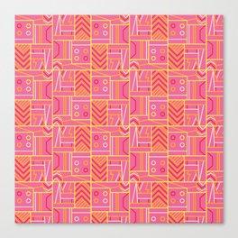 BP 74 Abstract Geo Canvas Print