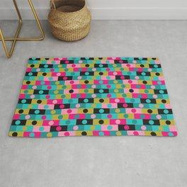 Retro Color Blocks Rug