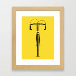La Bicyclette Framed Art Print
