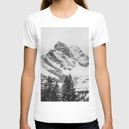 black and white like forest and snow T-shirt