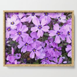 Lavender Creepers Serving Tray